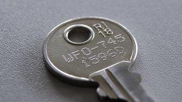 Znakowanie mikropunktowe klucza